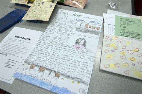 Newspaper Book Report Project