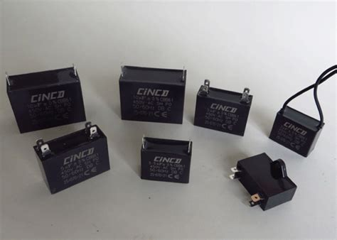 fan capacitor working motor run capacitor cinco capacitor china ac capacitors factory
