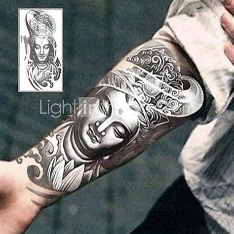 henna tattoo zwart tatoeagestickers non toxic onderrrug waterproof