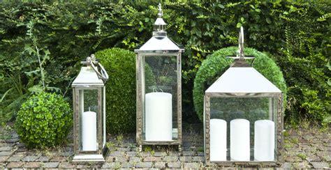lanterne con candele dalani candele da esterno magia di in giardino