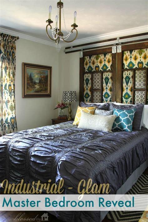 Glam Bedroom On A Budget Industrial Glam Master Bedroom Makeover Reveal
