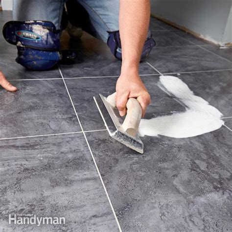 Vinyl Flooring Installation Luxury Vinyl Tile Installation The Family Handyman