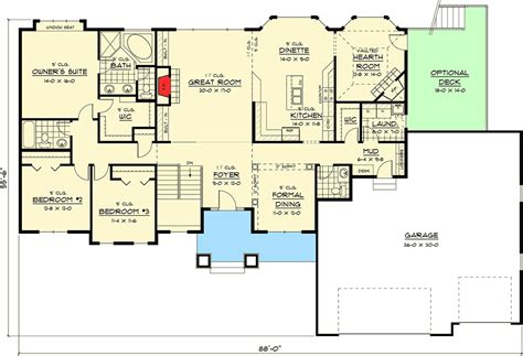 reverse ranch house plans reverse ranch house plans latest ranch house plan