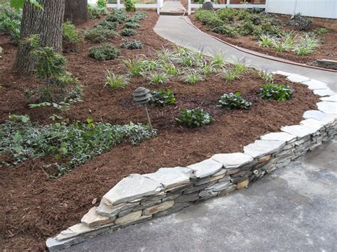 Landscape Timbers Greensboro Nc Best 25 Retaining Wall Gardens Ideas On