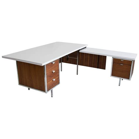 executive desk and return by robert john for sale at 1stdibs