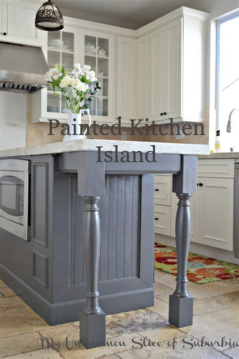 painted islands for kitchens painted kitchen island