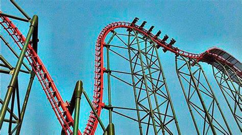 Roller Coaster Track Dinosaur photos dinoconda 4 d coaster at china s dino land la times
