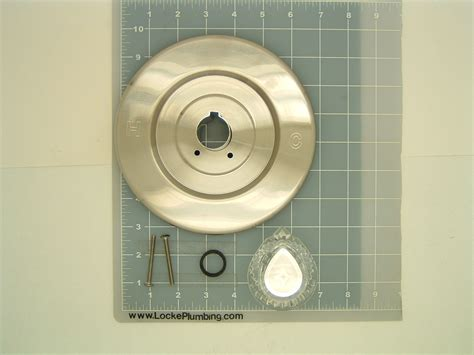 moen moe 401880 moen chateau trim kit in brushed nickle