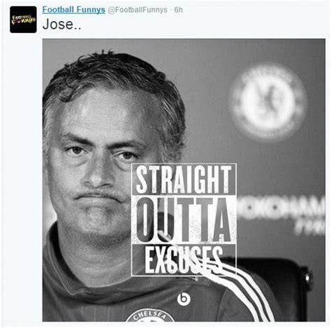 Mourinho Meme - jose mourinho virals memes mock chelsea boss daily mail