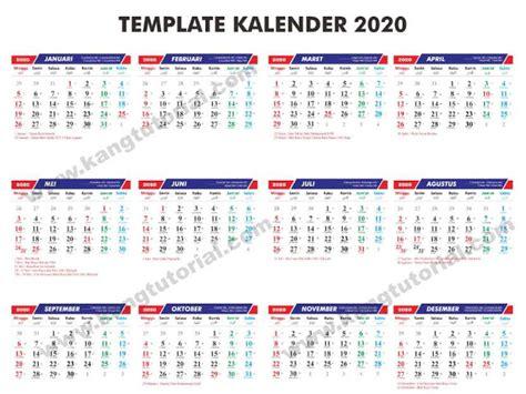 template kalender  gratis format cdr   lengkap kang tutorial