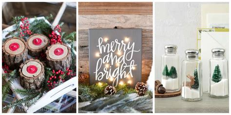 diy home decor christmas 30 diy christmas decorations that are merry and bright