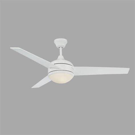 High Tech Ceiling Fan by Radionic Hi Tech Skylar 52 In White Ceiling Fan With
