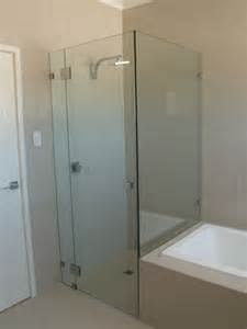frameless shower screens over bath frameless glass why fit a bath shower screen bath decors