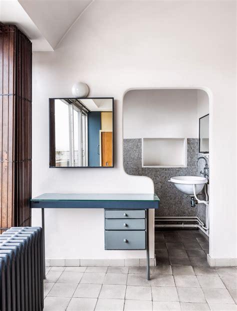 le corbusiers studio apartment  paris mid mod