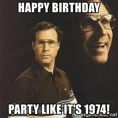 happy birthday will ferrell meme memes