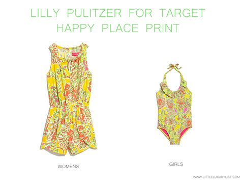 Lilly Pulitzer Home Decor lilly pulitzer for target sea happy place print little