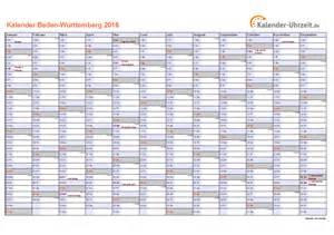 Kalender 2016 Mit Feiertage 2016 Baden W 252 Rttemberg Kalender