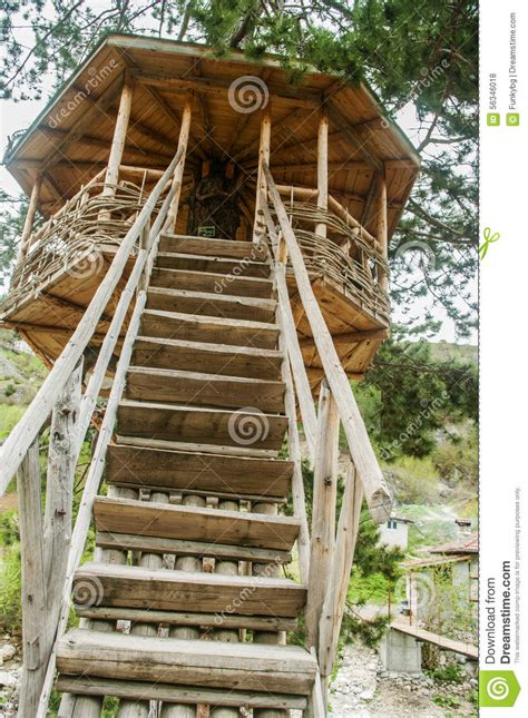 small house for kids cute small tree house stock photo image 56346018