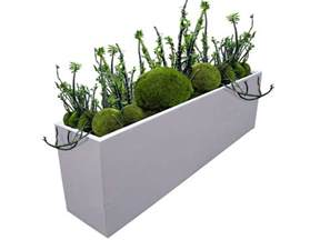 hudson large rectangular planter box plantersetc
