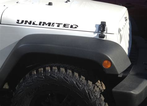 jeep hood stickers product 2 jeep unlimited rubicon wrangler hood sticker decal