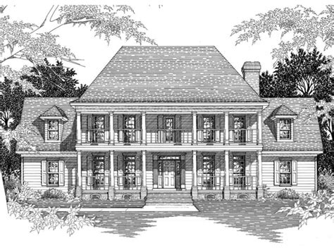 historic southern house plans southern plantation home plans historic southern