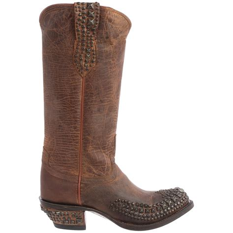 lucchese boots for lucchese studded cowboy boots for