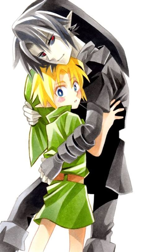 dark onion link child aww cx can you hug me dark link plz zelda link