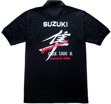 Kaos Polo Bmw free shipping black suzuki hayabusa gsx 1300r polo shirt