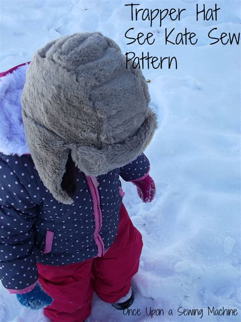 pattern trapper review trapper hat adventures in faux fur once upon a sewing