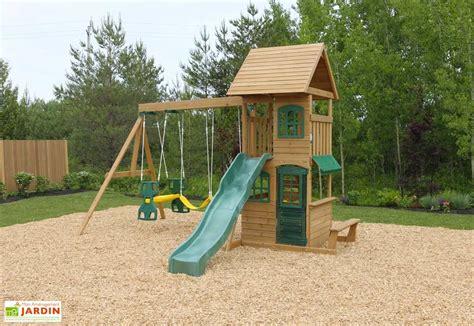 balancoire bois avec cabane aire de jeux avec balancoire interesting fatmoose aire de