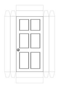 front door template doors craft n home