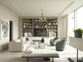 ny interior designers calm interior of a modern apartment in manhattan new