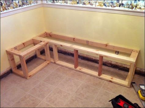 how to build a corner bench seat 17 best images about kitchen booths on pinterest in the