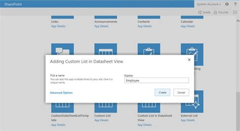 create list from template sharepoint 2013 sharepoint 2013 create custom list template and set
