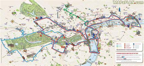 tour map maps decker tour free printable map