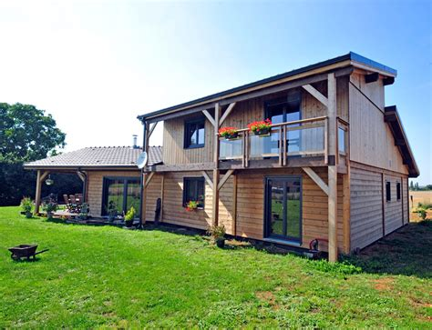 maison de en bois maison bois style ranch nos maisons ossatures bois maison