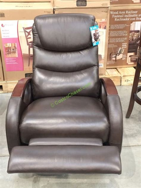 costco recliner 399 true innovations leather swivel glider recliner model cr