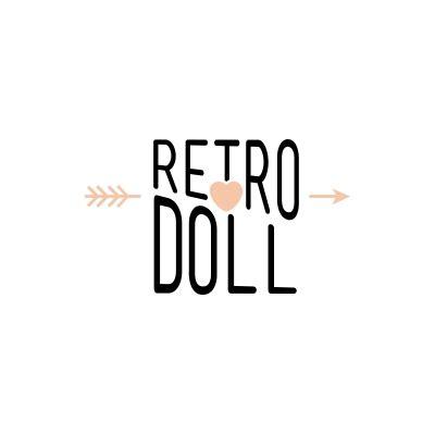 doll logo design retro doll logo design gallery inspiration logomix