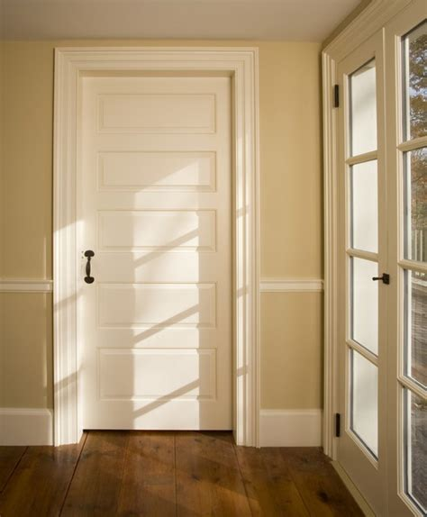 Houzz Interior Doors Custom Paneled Door Traditional Interior Doors Philadelphia By Fredendall Building Company