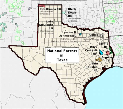 texas national forest map usda forest service sopa texas