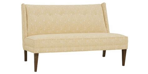 dining banquette settee fabric upholstered dining settee banquette club furniture