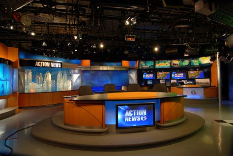 Multipurpose Room wpvi tv philadelphia pa modular broadcast design