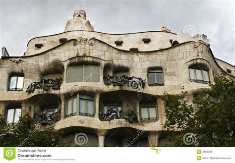 gaudi house barcelona gaudi house barcelona royalty free stock photos image 3132938