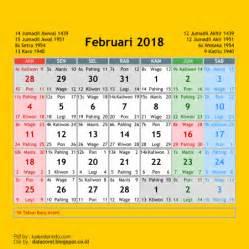 Kalender Februari 2018 Kalender 2018 Cdr 12 Bulan Free Corel Draw Files