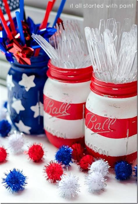 10 Independence Day Table Decorations