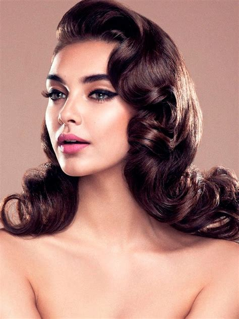 how to get old fashioned curls for hair for blavk tie event 30 dreamy vintage hairstyles inspired by old hollywood