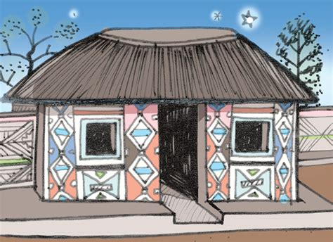 tradisionele xhosa hutte gr7 tegnologie