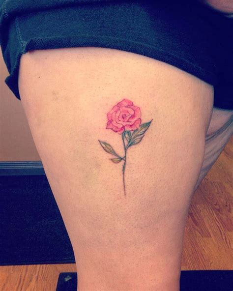 small red rose tattoo 51 real pink tattoos best ideas gallery