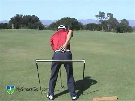 golf swing instructional video golf instruction hip turn youtube