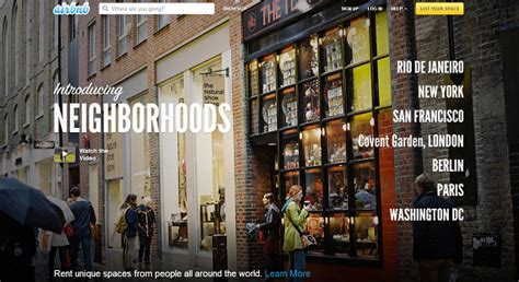 airbnb neighborhoods airbnb launches neighborhood guides and local lounges